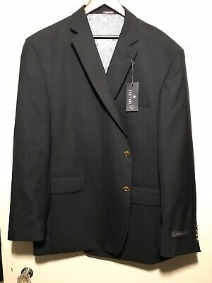 NWT!! Stafford Executive Big & Tall Suit Jacket 54 Long Big Navy