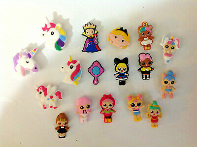 LOL Doll Unicorn Girl Mixed PVC Shoe Charms Crocs & Jibbitz