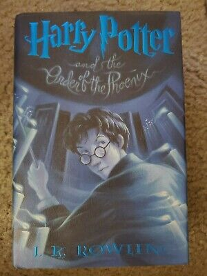 Harry Potter And The Order Of The Phoenix (2003 HC) 1st US Edition/1st Printing