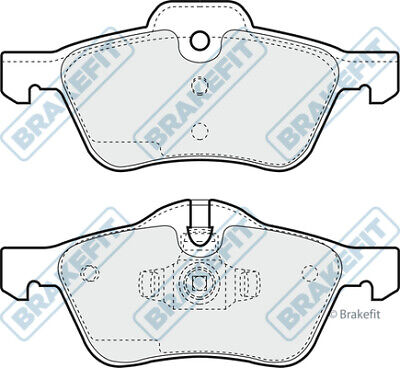 Brake Pads Set fits MINI CONVERTIBLE ONE R52 1.6 Rear 04 to 07 W10B16A QH New