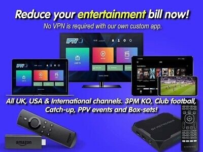 IPTV 1 month subscription!👌Trusted seller No rubbish👍