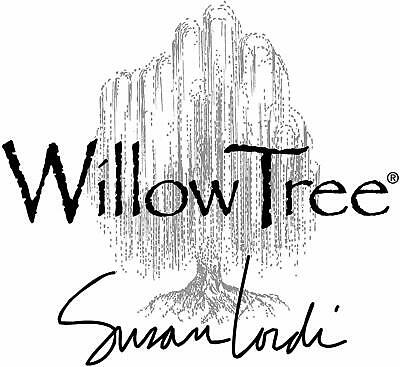 Willow Tree Quietly Figurine Quietly Encircled Love Written Enclosure Card...