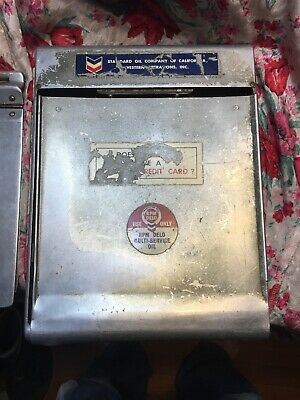 1950s RPM Gas Station Credit Card Reciept Clip Board