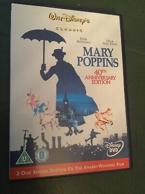 Mary Poppins [2 Disc 40th Anniversary Special Edition] [DVD] [1963] By Julie .