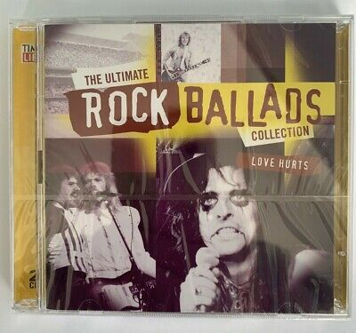 The Ultimate Rock Ballads Collection Love Hurts Time Life 2 CD New and Sealed