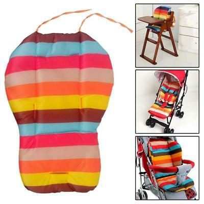 Rainbow Cushion Baby Car Stroller Thick Pram Chair Seat Support Pillow Cover Pad