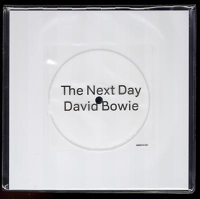 David Bowie The Next Day Unplayed 7 Inch White Vinyl Square Disc 2013