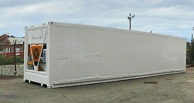 40-Foot Freezer Container Mobile Cold Storage Cell Thermo King/Reefer