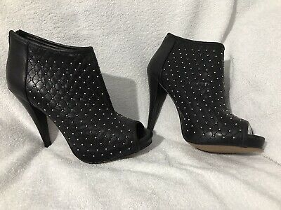 ALDO - CUFF SHOE BOOT - DOT DETAILING - SOLD OUT - SIZE 6 - GENUINE - New Black