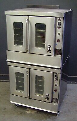 Montague 2-115A Series Full Size Double Stack Gas Convection Oven FREE Shipping!