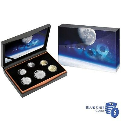 2019 50th Anniversary of the Moon Landing Royal Australian Mint 6 Coin Proof Set
