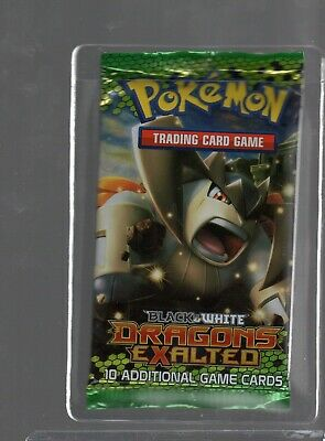 SEALED Pokemon Dragon/'s Exalted English Terrakion Artwork  Booster Pack