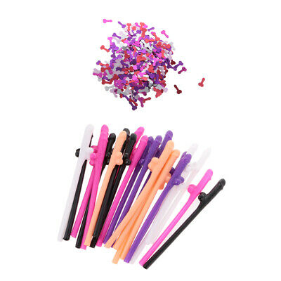 Willy Table Confetti 20 Dicky Sipping Straws 21pcs Paper Cups Hen Stag Party
