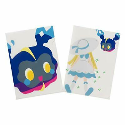 Pokemon Center  A4 Clear File 2 pieces set Contents of Trainer 's bag OR/_TQ JL