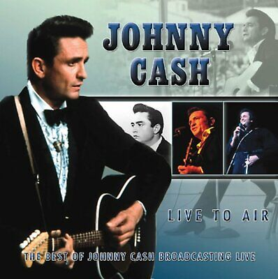 830241 791967 Audio Cd Johnny Cash - Live To Air