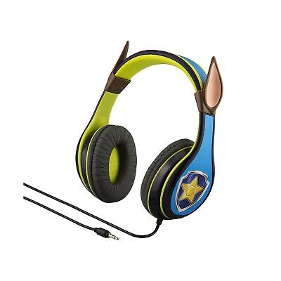 Paw Patrol Chase Headphones for Kids Built in Volume Limiting Feature Comfort