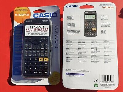 CASIO Calculadora cientifica FX-82SPX II LA QUE PIDEN EN INSTITUTOS 293FUN