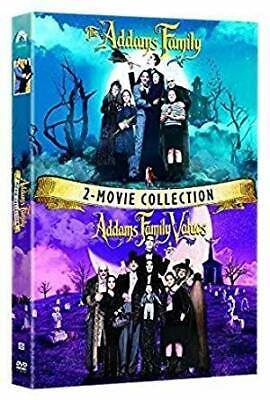 The Addams Family/Addams Family Values 2 Movie Collection  DVD 2019 BRAND NEW