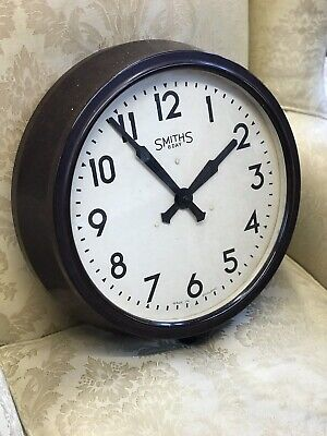 Large 1930's Smiths Bakelite Factory Clock