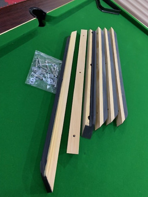 SUPREME Pool Table Cushions 7ft inc Fixing Bolts