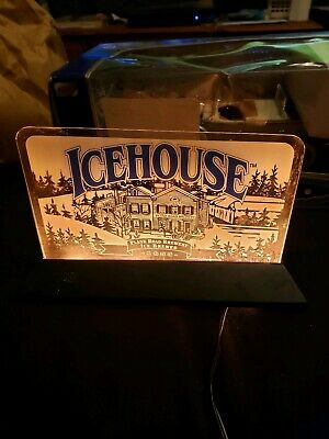 Icehouse Plank Road Brewery Beer Lighted Sign