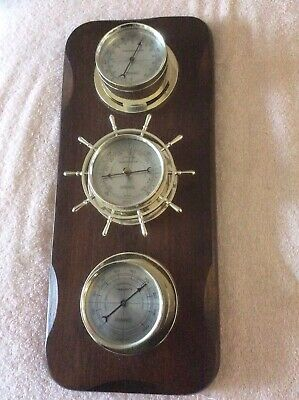 vintage springfield wall mount weather station