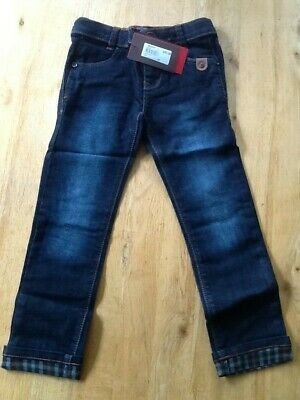 Catimini Boys Navy Denim Jeans Age 5 Years BNWT