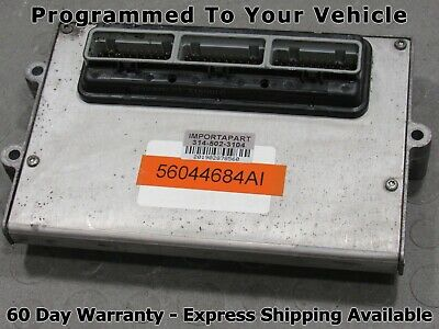 2004 Jeep Grand Cherokee 4.7L ECU ECM PCM Engine Computer REMAN Part#  56044565