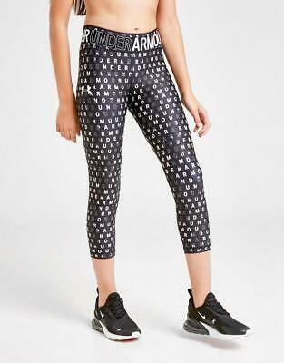 New Under Armour Girls' All Over Print Tights Junior