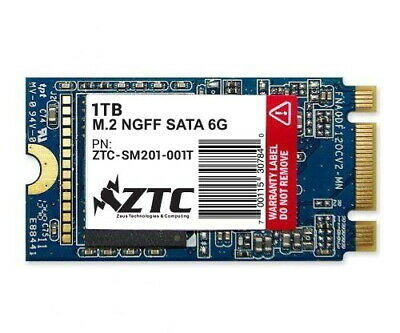 1TB ZTC Armor 42mm M.2 NGFF 6G SSD Solid State Disk- ZTC-SM201-001T