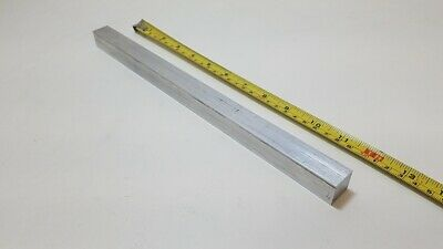 "6061 Aluminum Square Bar Rod, 3/4"" Thick x 3/4"" Wide x 12"" long, Solid Stock"