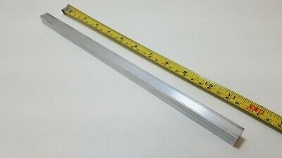 "6061 Aluminum Square Bar Rod, 1/2"" Thick x 1/2"" Wide x 12"" long, Solid Stock"