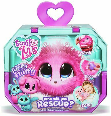 Scruff a Luvs Pink Mystery Rescue Pet Soft Toy