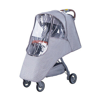 Stroller Rain Mosquito Stop Cover Weather Proof Pram Rain Wind Snow Dust Cover