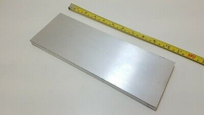 "6061 Aluminum Flat Bar, 3/8"" Thick x 4"" Wide x 11"" long, Solid Stock, Machining"