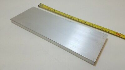 "6061 Aluminum Flat Bar, 1/2"" Thick x 4"" Wide x 11"" long, Solid Stock, Machining"