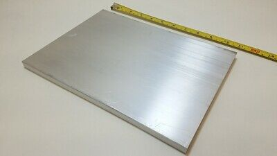 "6061 Aluminum Flat Bar, 1/2"" Thick x 8"" Wide x 11"" long, Solid Plate, Stock"