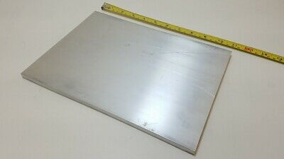 "6061 Aluminum Flat Bar, 3/8"" Thick x 8"" Wide x 11"" long, Solid Plate, Stock"