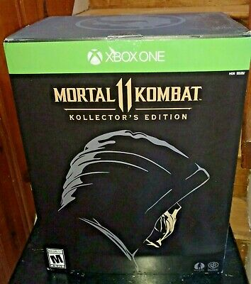 Brand New Mortal Kombat 11 Kollector's Edition (Microsoft Xbox One, 2019)