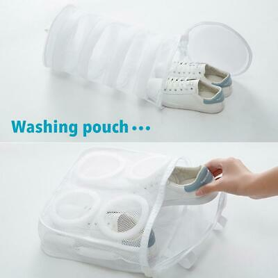 Laundry Wash Bag Shoes Washing Aid Zipper Mesh Clothes Bra Storage Pouch Tote
