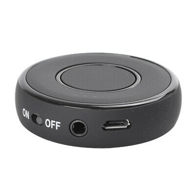 Mini Car Bluetooth Adapter Audio Receiver Speakers AUX USB Phone Music Player