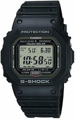 CASIO G SHOCK GW 5000 1JF Solar Radio Watch Multiband 6  SMUMx