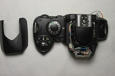 Nikon D40  Top Panel + Flash /Or/ Rear Panel + Lcd. Genuine - Parts