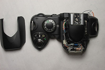 Nikon D80 Top Panel + Flash /Or/ Rear Panel + Lcd - Genuine Parts