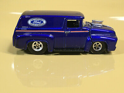 Hot Wheels '56 FORD VAN  RR's  AUTHORIZED FORD SALES SERVICE  1/64 DIE-CAST