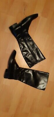 VERO CUOIO DAMEN Stiefel Weiches Leder Gr.38 Made in Italy