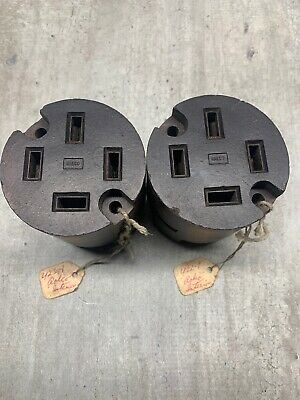 NEW! [LOT OF 2] PYLE-NATIONAL/RALCO [422–1] Receptacles [600V/3P/4W]**WARRANTY**