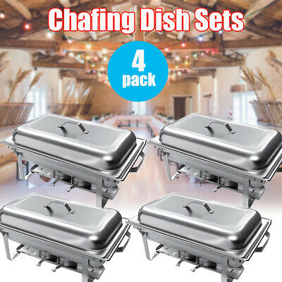 Cooks Professional 6L Food Warmer Chafing Dish Lid Buffet Tray Party Caterers