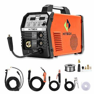 HITBOX 4in1 MIG Welder Gas MIG Gasless MIG LIFT TIG ARC Welding Machine 200Amp