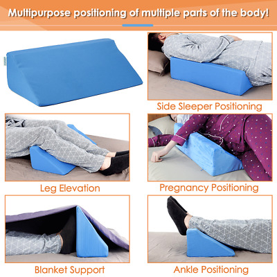 Wedge Pillow Body Position Wedges Back Positioning Elevation Pillow Case